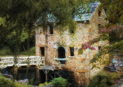 Photograph - Painterly Old Mill by James Barber