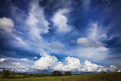 Painterly Sky Over Oklahoma Art Print
