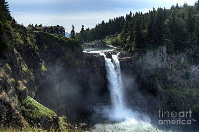 Photograph - Painterly Snoqualmie by Chris Anderson