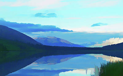 Photograph - Painterly Summit Lake Alaska by Aimee L Maher ALM GALLERY