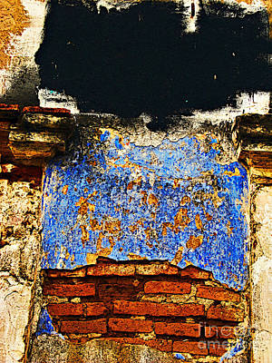 Painter's Wall By Darian Day Art Print by Mexicolors Art Photography