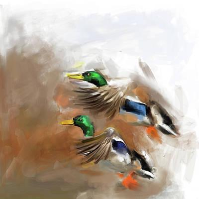 Painting - Painting 658 1 Bird 5 by Mawra Tahreem