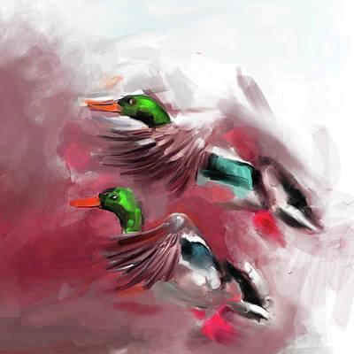 Painting - Painting 658 2 Bird 5 by Mawra Tahreem