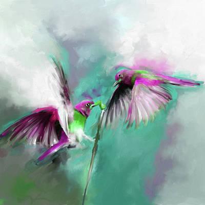 Painting - Painting 660 3 Bird 7 by Mawra Tahreem