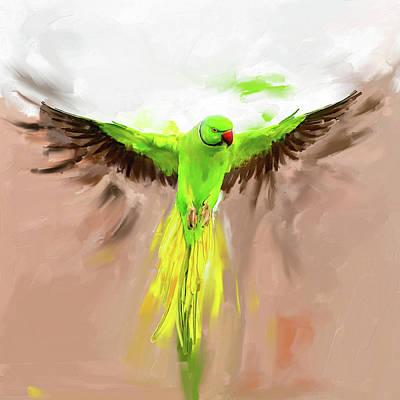 Painting - Painting 661 1 Bird 8 by Mawra Tahreem