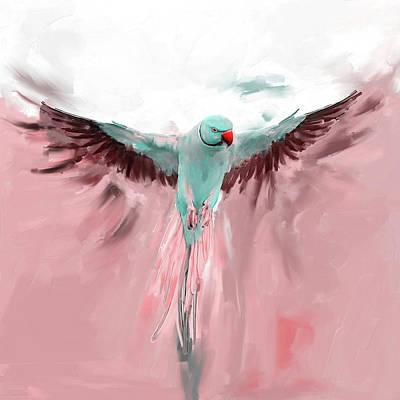 Painting - Painting 661 2 Bird 8 by Mawra Tahreem