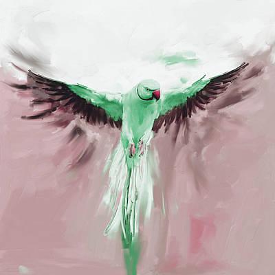 Painting - Painting 661 3 Bird 8 by Mawra Tahreem