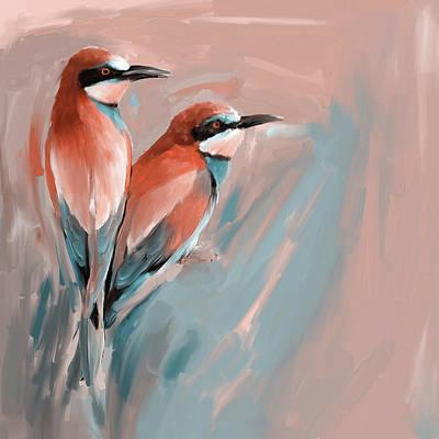 Painting - Painting 662 2 Bird 9 by Mawra Tahreem