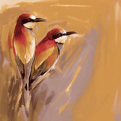 Painting - Painting 662 3 Bird 9 by Mawra Tahreem
