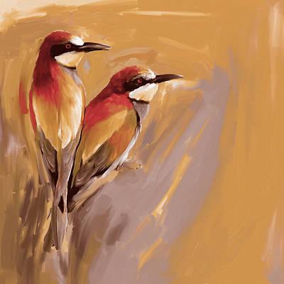 Painting - Painting 662 3 Bird 9 by Mawra Tahreem
