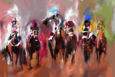 Painting - Painting 734 3 by Mawra Tahreem