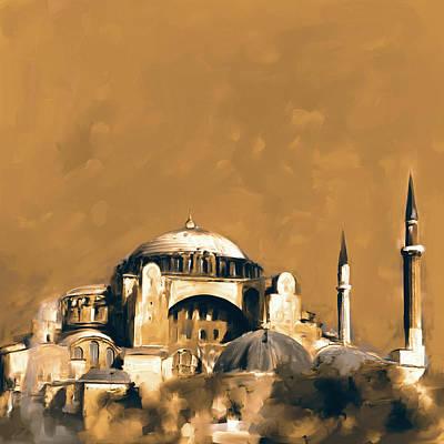 Painting - Painting 760 2 Hagia Sophia by Mawra Tahreem