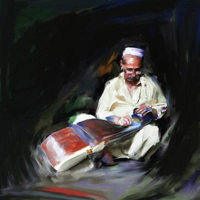 Painting - Painting 794 1 Rubab by Mawra Tahreem