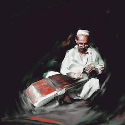 Painting - Painting 794 2 Rubab by Mawra Tahreem