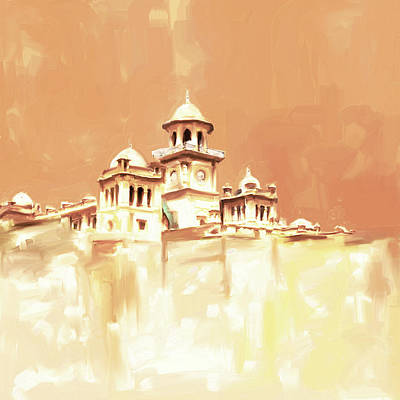 Painting - Painting 795 2 Islamia College Peshawar by Mawra Tahreem
