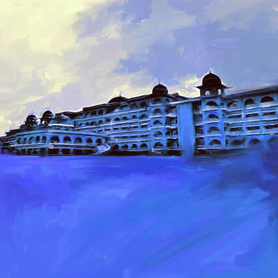 Painting - Painting 797 2 Peshawar University by Mawra Tahreem