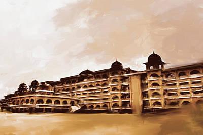 Painting - Painting 797 3 Peshawar University by Mawra Tahreem