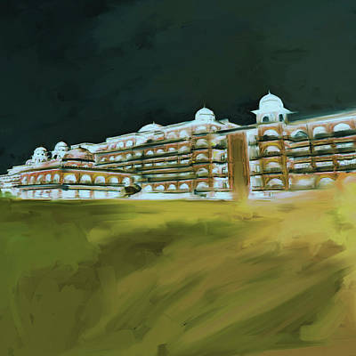 Painting - Painting 797 5 Peshawar University by Mawra Tahreem