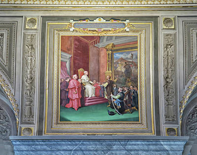 Photograph - Painting At The Vatican by Dave Mills