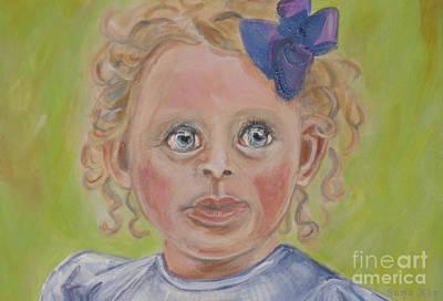 Painting - Painting Evelynn by Oksana Semenchenko
