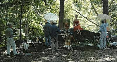 Photograph - Painting In Central Park-photo By Claudia Bousraou by Robert Holden