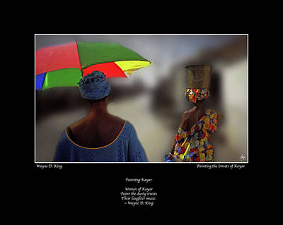 Photograph - Painting Kayar Haiku by Wayne King