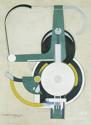 Pulley Painting - Painting by Morton Livingston Schamberg
