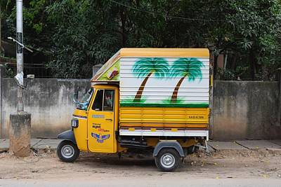 Photograph - Painting On Vehicle by Sumit Mehndiratta