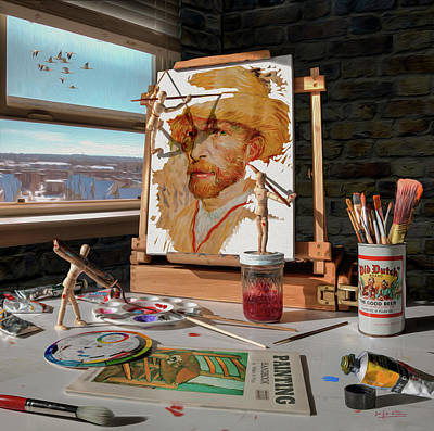 Painting Van Gogh Art Print