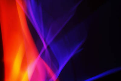 Painting With Light 3 Art Print by Chris Rodenberg