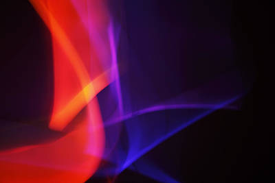 Painting With Light 4 Art Print by Chris Rodenberg