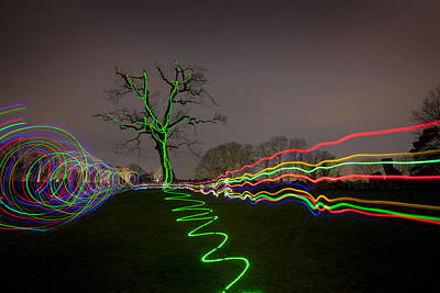 Photograph - Painting With Light by Dominick Moloney