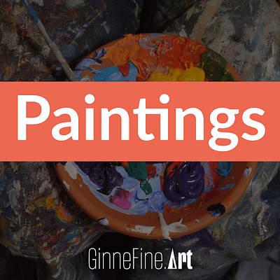 Digital Art - Paintings by Ginnefine