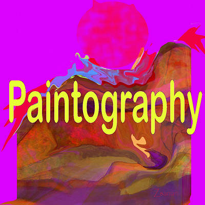 Digital Art - Paintography by Zsanan Narrin
