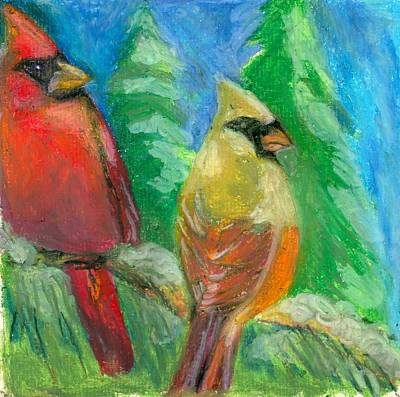 New Years - Pair of Cards by Sarah Hamilton