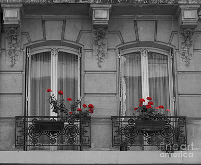 Photograph - French Windows by Juli Scalzi