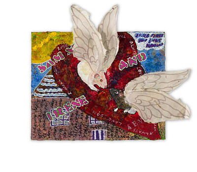 Mixed Media - Pairs - Sammy And Irene by Dawn Boswell Burke