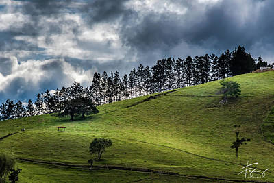 Photograph - Paisaje Colombiano #1 by Francisco Gomez