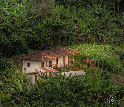 Photograph - Paisaje Colombiano #4 by Francisco Gomez