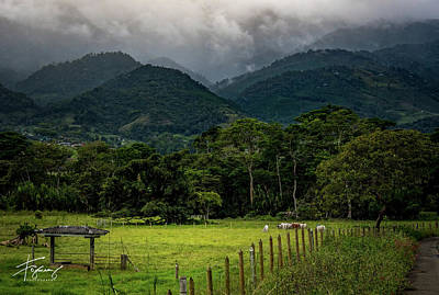 Photograph - Paisaje Colombiano #7 by Francisco Gomez