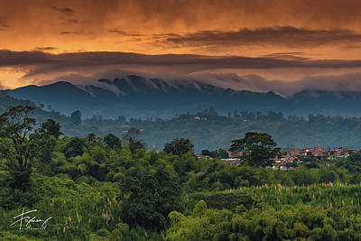 Photograph - Paisaje Colombiano #9 by Francisco Gomez
