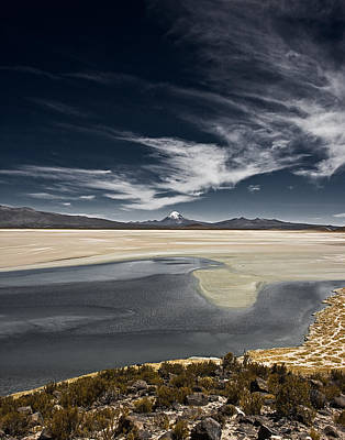 Photograph - Sajama In The Distance by Ron Dubin