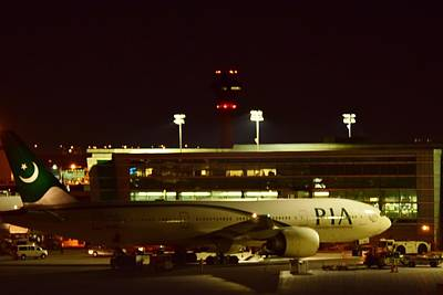 Photograph - Pakistan Airline by Puzzles Shum