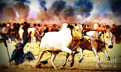 Pakistan-culture-bull-race Original