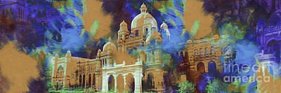 Painting - Pakistan Museum In Lahore  by Gull G