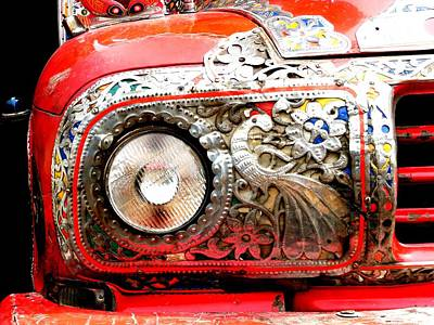 Photograph - Pakistani Jingly Truck by Fareeha Khawaja