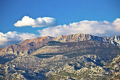 Photograph - Paklenica National Park On Velebit Mountain View by Brch Photography
