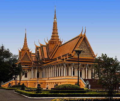 Palace At Phnom Phen Art Print