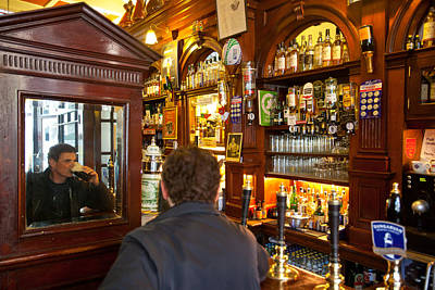 Photograph - Palace Bar-dublin by John Galbo