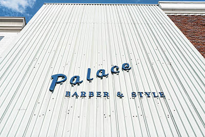Photograph - Palace Barber by Sharon Popek